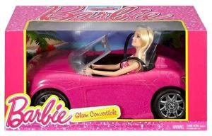 Carro De La Barbie Convertible Con La Muñeca