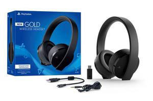 Audifonos Sony Stereo Gold Ps4 Wireless 2da Gen  ¡¡