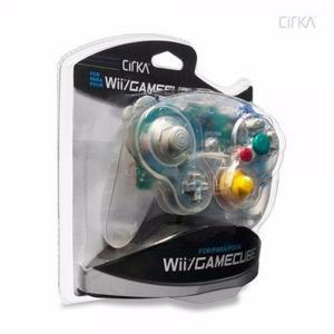 Control Wii Gamecube Transparente Marca Cirka