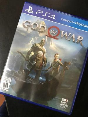 God Of War 4 Ps4 Una Semana de Uso