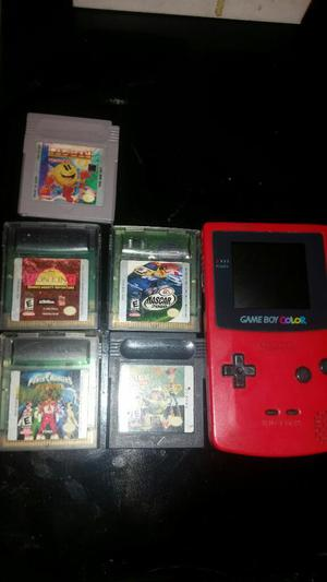 Juegos Game Boy Y Consola para Repuesto