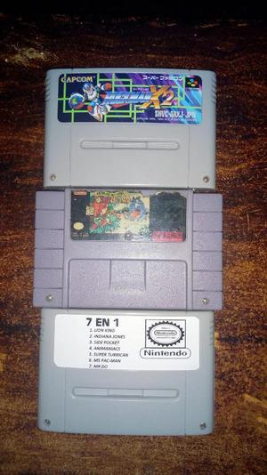 Juegos para Super Nintendo Snes