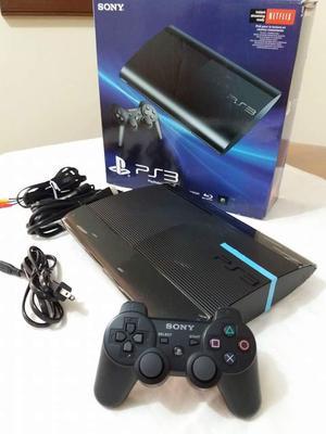 PS3 Super Slim 250gb con 40 juegos originales GARANTIZADO!