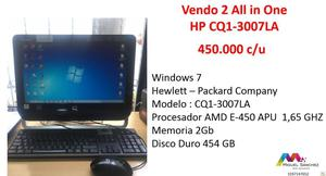 Vendo All in one HP