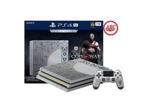Consola Playstation 4 Pro 1tb 4k Edicion God Of War