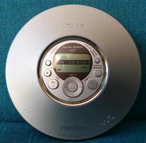 Discman Sony Mp3. Radio Am Fm