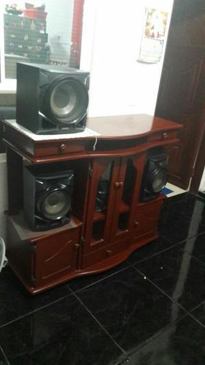 Equipo de Sonido Sony con Mueble !