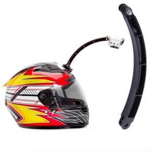 Montaje para casco de motocicleta y/o bicicleta para Go Pro
