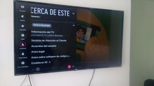 Televisor LG 49 pulgadas Smart tv excelente estado