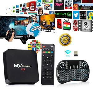 Tv Box Mxq Pro 4k Android 5.1 Mini Teclado Smart Tv Combo