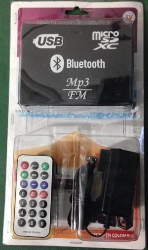 Reproductor de Bluetooth,Usb,Fm