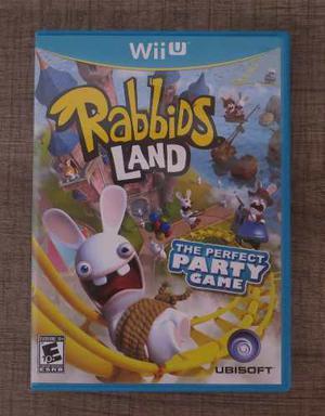 Juego De Rabbid Island Original Para Wii U - Nuevo