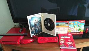 Vendo Nintendo Wii Rojo En Perfecto Estado