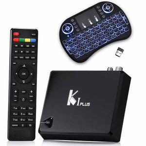 Tv Box 4k Android 5 Con Tdt + Teclado Bluetooth Inalambrico