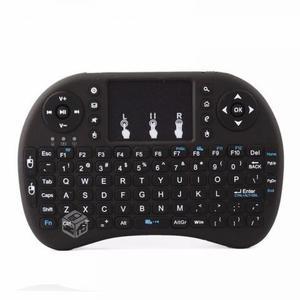 Mini Teclado Retro Iluminado Touchpad Inalámbrico