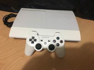 Vendo Cambio Ps3 Súper Slim Edición Blanca 500gb 58 Juegos