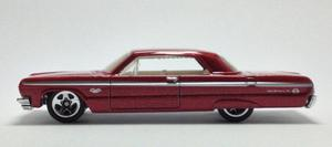 Chevy Impala Escala 1/64 Coleccion Hot Wheels B395