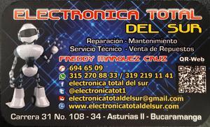 REPARAMOS TV ULTIMA TECNOLOGIA