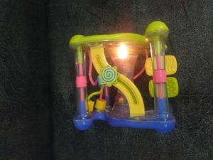 Cubo Juguete Musical, Didactico, con Luces