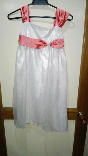 Vestido Fiesta Niña Talla 10