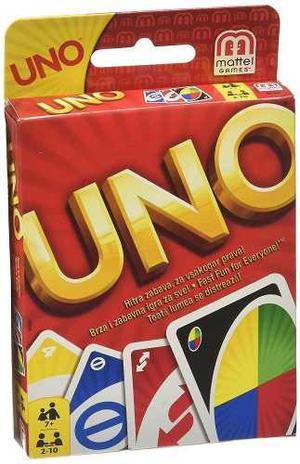 Cartas Juego Uno Original Mattel Juego De Mesa Clasico
