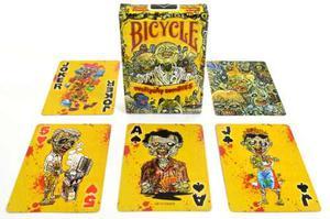 Cartas/barajas Everyday Zombies De Bicycle Originales Poker