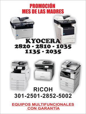 Fotocopiadoras Ricoh Y Kiocera