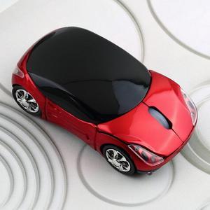 Mouse Inalámbrico Bluetooth Carro Ergonómico Elegante