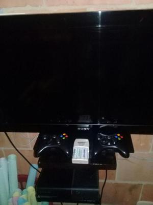 3 combo de tv y xbox 360 con disco duro 250 gb