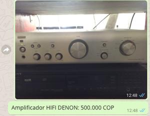 Amplificador DENON HIFI