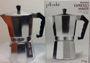 Cafetera Espresso Primula En Aluminio 9 Tazas Ref
