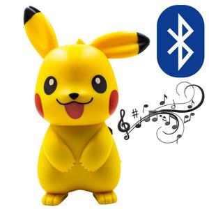 Parlante Picachu Pokemon Bluetooth Radio Fm Usb Micro Sd