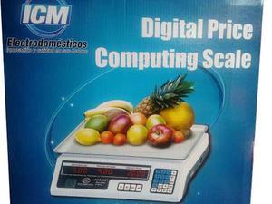 Pesa Bascula 40 Kg Electronica Balanza Peso Digit Recargab