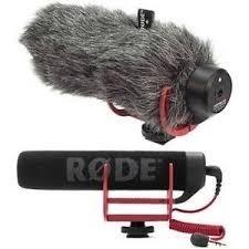 Combo Microfono Camara Rode + Filtro Anti Viento Peluche