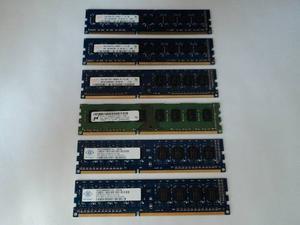 Memorias Ddr3 Para Pc 2gb Diferentes Marcas Garantía 6