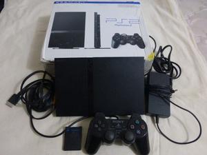 Playstation 2 Ps2 Un Control Memoria Y Cables. Ofertaaa