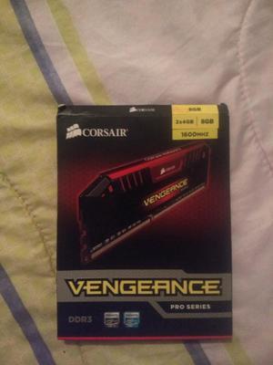 Memoria Ram Corsair 2*4 Gb, 8 Gb Total