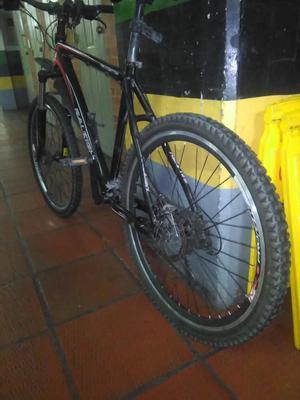 Bicicleta todo terreno rin 26 aluminio