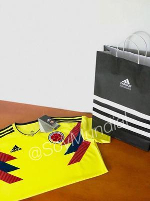 Camisa Selección Colombia Mujer Hombre versión Climalite