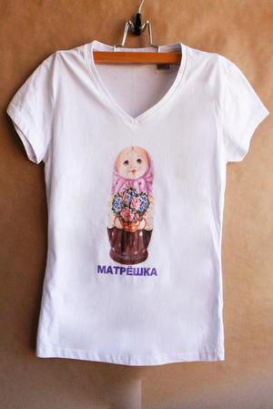Camiseta matrioshka
