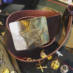 Cinturón soviético autentico