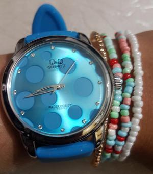 Relojes Deportivos Q.q Original Mujer