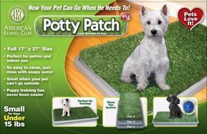 Tapete De Entrenamiento Para Perros Potty Patch Grande Pasto