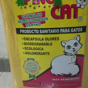 Arena Sanitaria para Gatos
