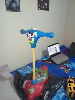 Patineta Mickey Mouse Luces Y Sonido