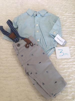 ropa ninos y ninas marca carters talla de 3 a 24 meses