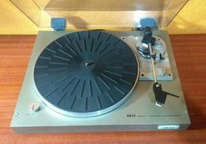 Tocadiscos tornamesa AKAI APB10C vintage  RPM manual de