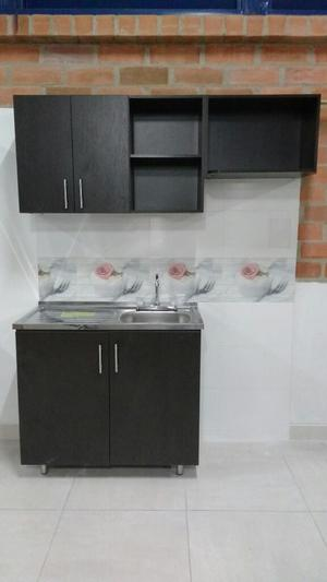 Mueble cocina integral industrial acero | Posot Class