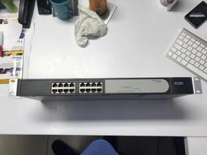 Switch 3com de 16 puertos