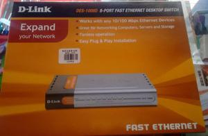 Switch Dlink Desd 8 Puertos mbps
